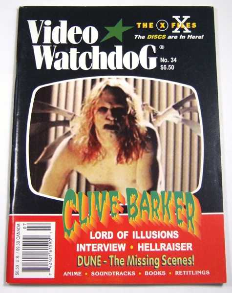 Video Watchdog #34 (July / August, 1996)