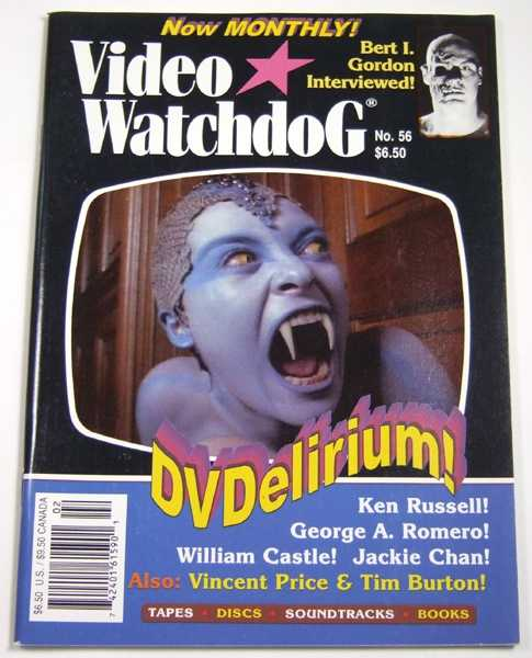 Video Watchdog #56 (February, 2000)