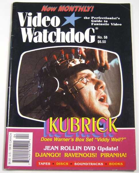 Video Watchdog #58 (April, 2000)