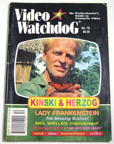 Video Watchdog #78 (December, 2001)
