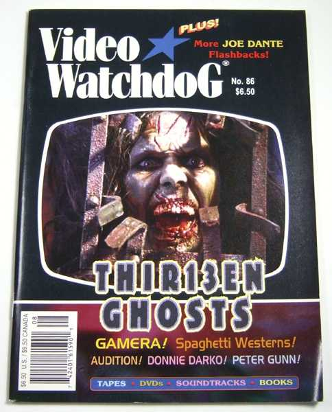 Video Watchdog #86 (August, 2002)