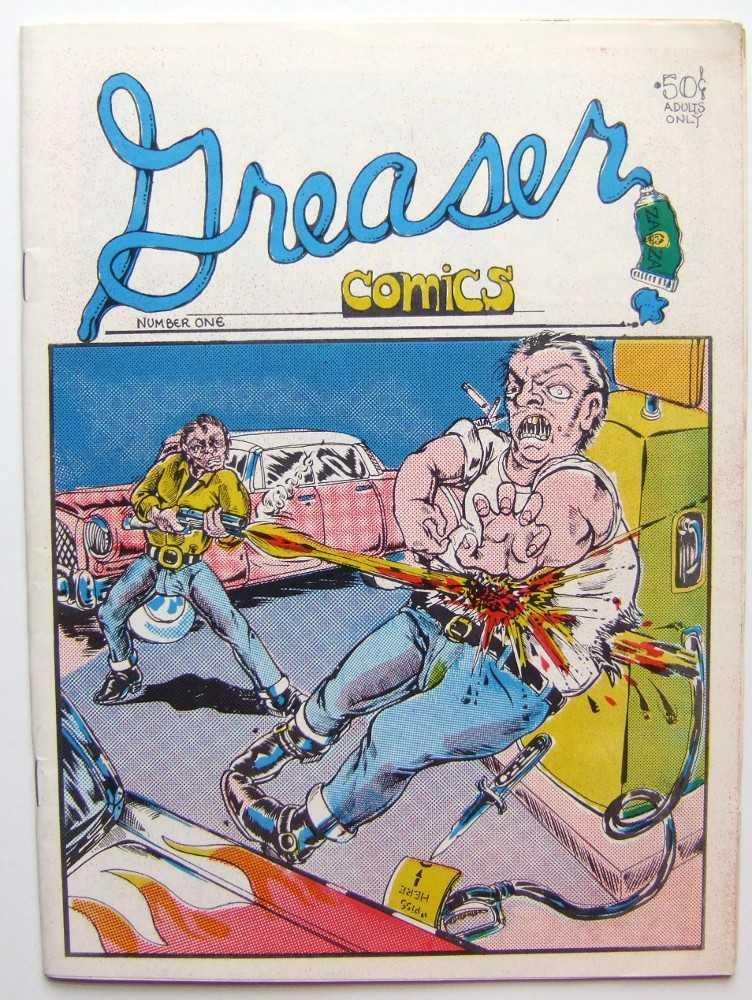 Greaser Comics #1, George DiCaprio (cover); R. Jacoma; et al