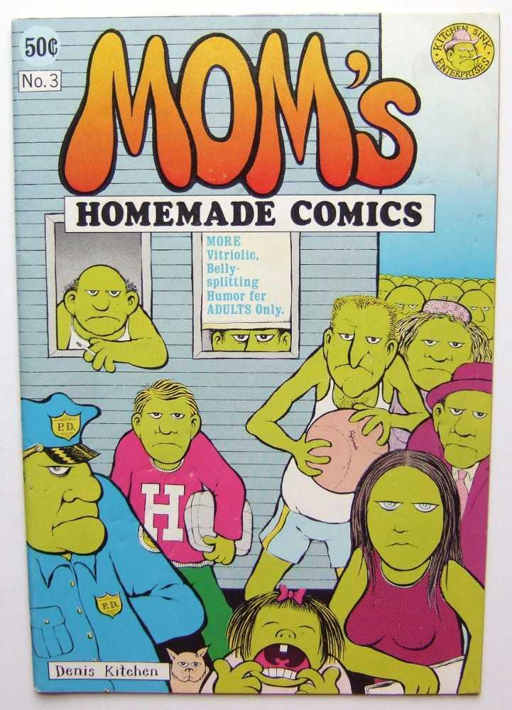 Mom's Homemade Comics #3, Denis Kitchen; Skip Williamson; Robert Crumb; Jay Lynch; et al