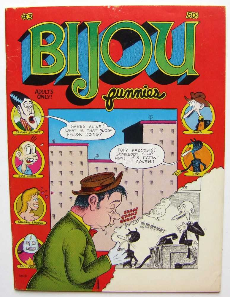 Bijou Funnies #3, Jay Lynch; Skip Williamson; Kim Deitch; Robert Crumb; Justin Green; et al