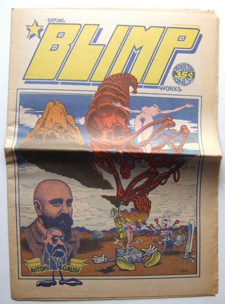 Gothic Blimp Works #7, Robert Williams; Art Spiegelman; Kim Deitch; Gilbert Shelton; Bill Griffith; Spain (Manuel Rodriguez); et al