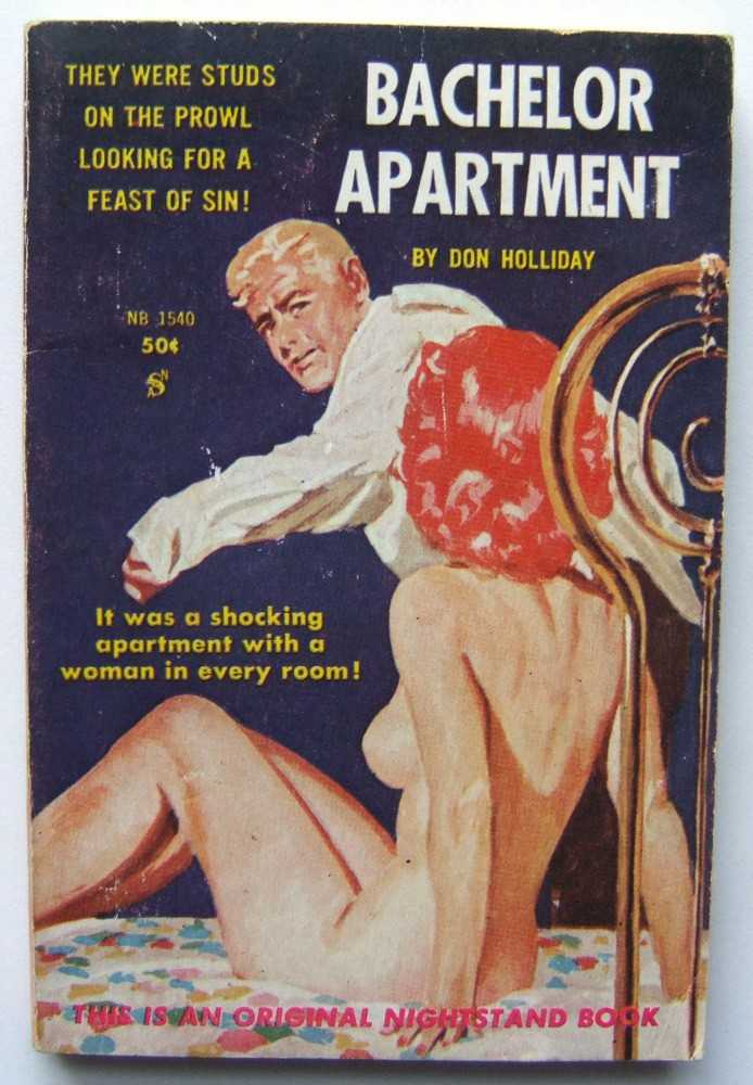 Bachelor Apartment, Don Holliday (pseudonym of Hal Dresner)