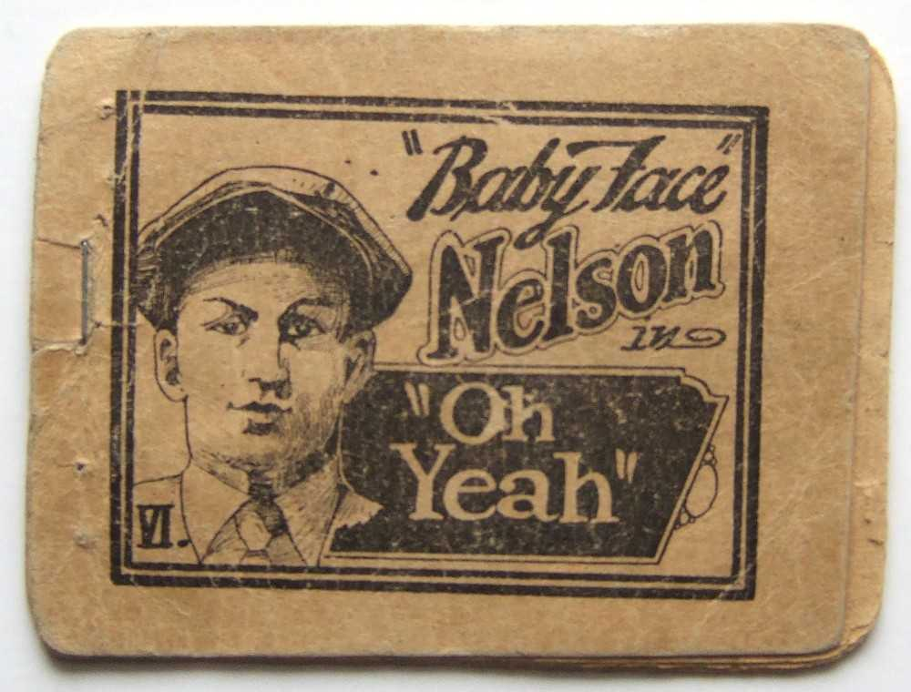"""Baby Face"" Nelson in ""Oh Yeah"" VI (Tijuana Bible), Anonymous; ""Baby Face"" Nelson"