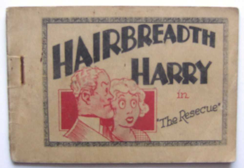 "Hairbreadth Harry in ""The Rescue"" (Tijuana Bible), unknown; C. W. Kahles and F. O. Alexander (based on characters created by)"