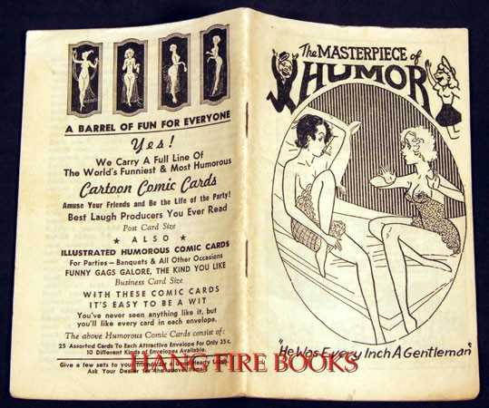 The Masterpiece of Humor (1930s risque joke and cartoon booklet), Unknown
