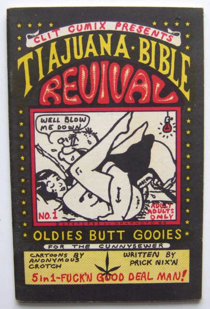 Tiajuana (Tijuana) Bible Revival, No. 1 (Clit Cumix Presents) (Blotter Art), Unknown