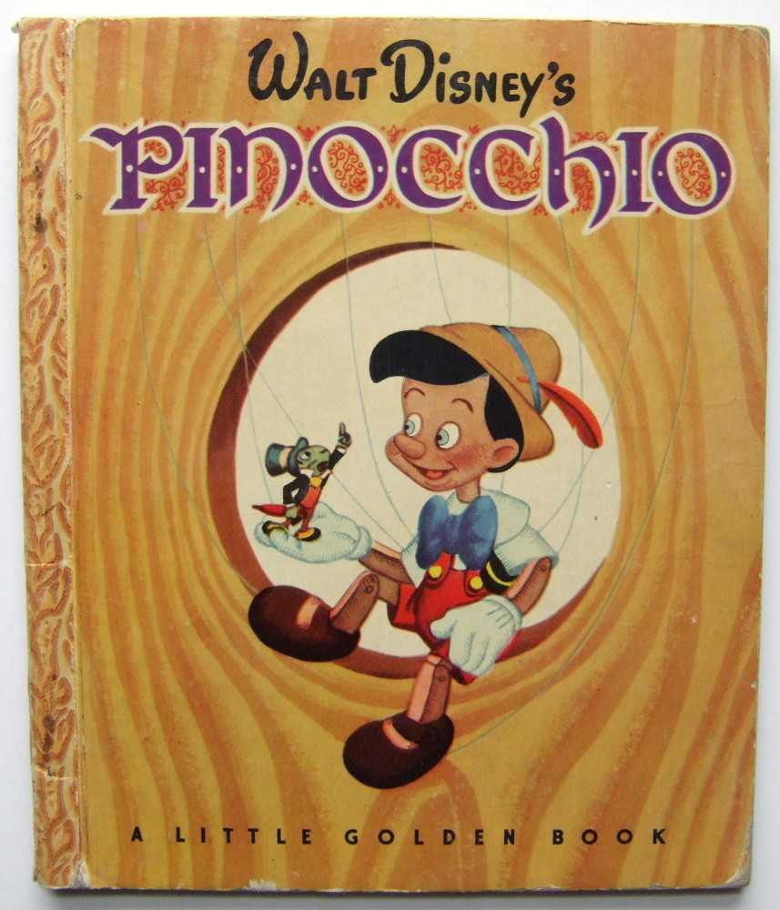 Walt Disney's Pinocchio (A Little Golden Book), Collodi; Campbell Grant (adapted by)