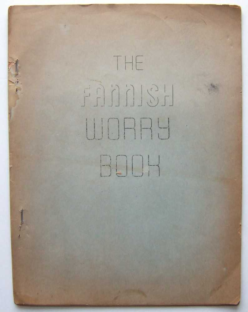 The Fannish Worry Book (Mimeo 'zine, February, 1969), Arnie Katz; Jay Kinney