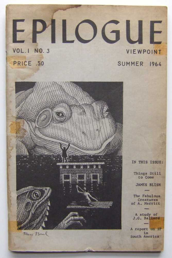 Epilogue Viewpoint ('zine. Summer, 1964. Vol. 1, No. 3), George T. Zebrowski (ed); James Blish