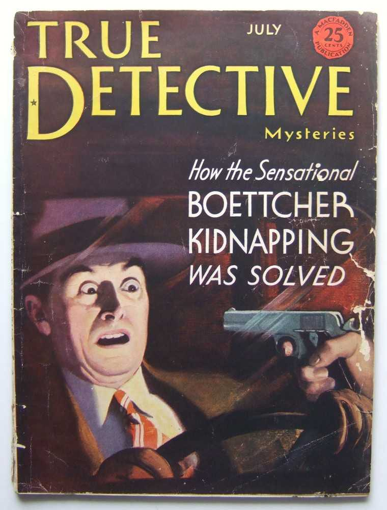 True Detective Mysteries (July, 1933), Editors