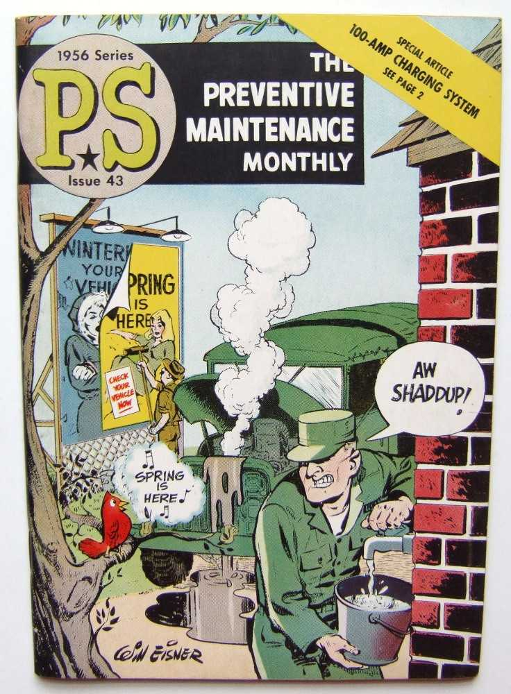 PS: The Preventive Maintenance Monthly, 1956 Series, Issue #43, Eisner, Will