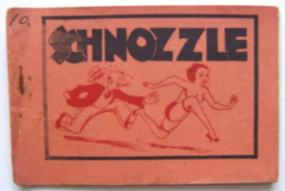 Schnozzle (Jimmy Durante) (Tijuana Bible, 8-Pager), Anonymous
