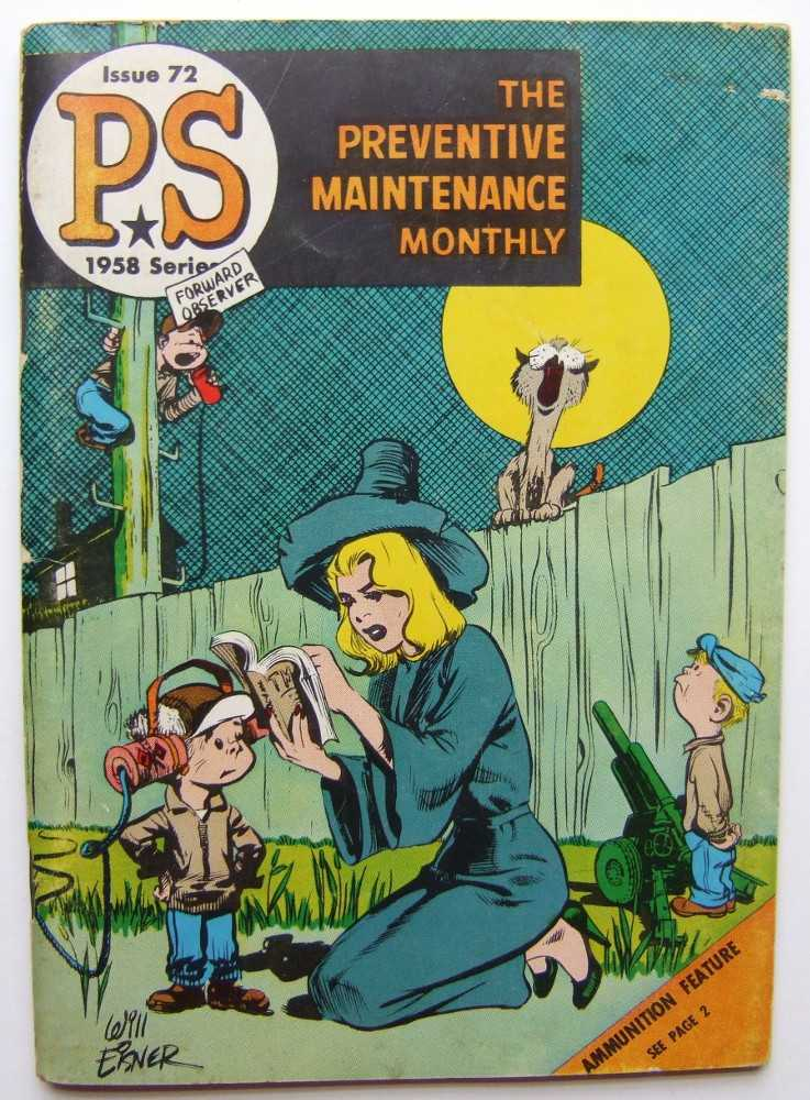 PS: The Preventive Maintenance Monthly, 1958 Series, Issue #72, Eisner, Will