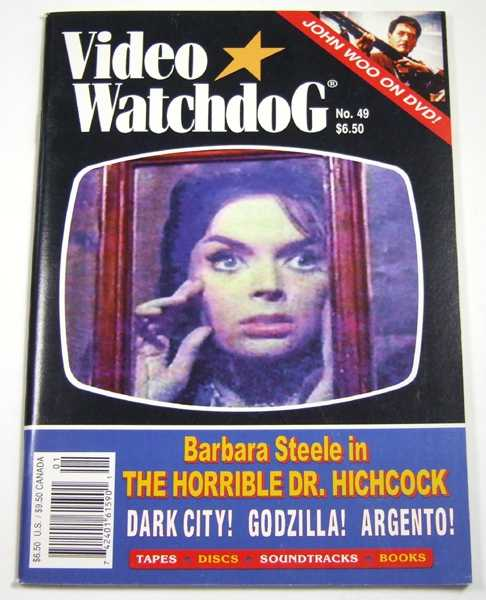 Video Watchdog #49 (January / February, 1999), Tim Lucas (editor); Ramsey Campbell; Kim Newman; John Charles