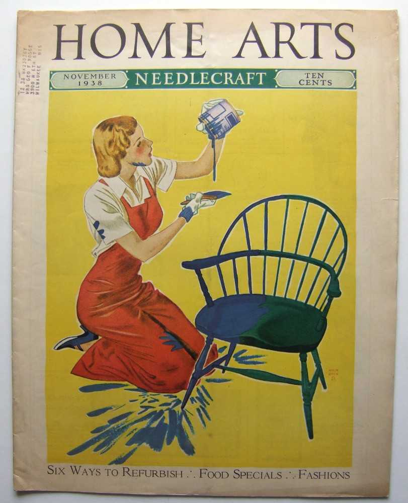 Home Arts - Needlecraft (November, 1938, Volume XXX, No. 3), Editors