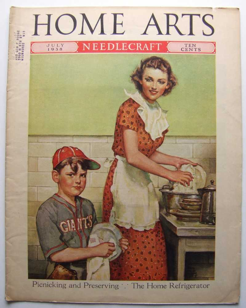 Home Arts - Needlecraft (July, 1938, Volume XXIX, No. 11) [Baseball, New York Giants cover], Editors