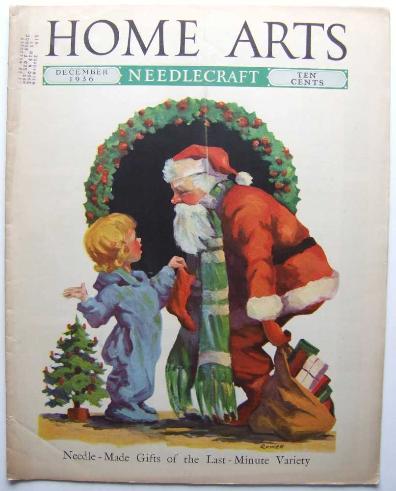 Home Arts - Needlecraft (December, 1936, Volume XXVIII, No. 4) [Santa Claus cover], Editors