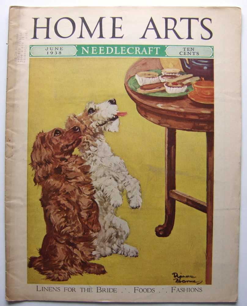 Home Arts - Needlecraft (June, 1938, Volume XXIX, No. 10) [Dog, terrier cover], Editors