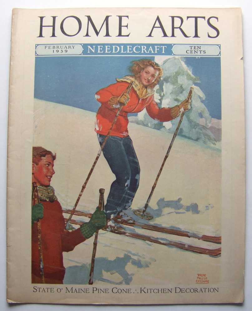 Home Arts - Needlecraft (February, 1939, Volume XXX, No. 6) (Skiing cover), Editors