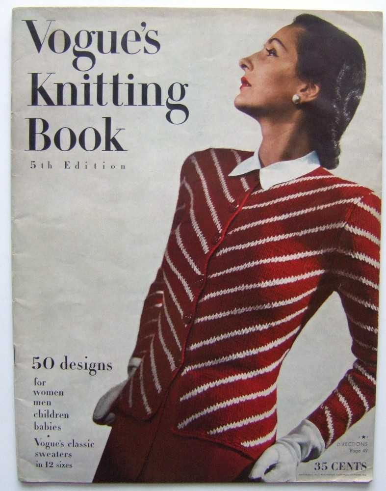 Vogue's Knitting Book, 5th Edition (1944), Seder (editor), Ruth