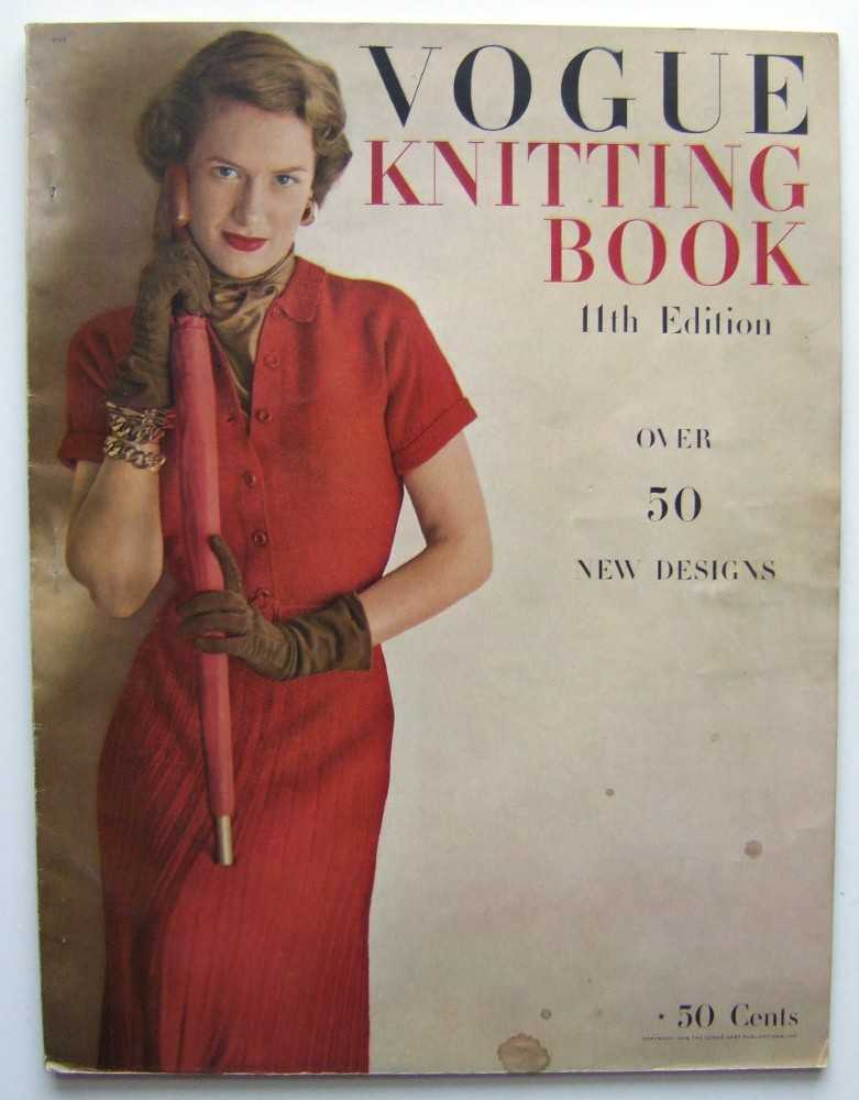 Vogue's Knitting Book, 11th Edition (1948), Seder Cooke (editor), Ruth