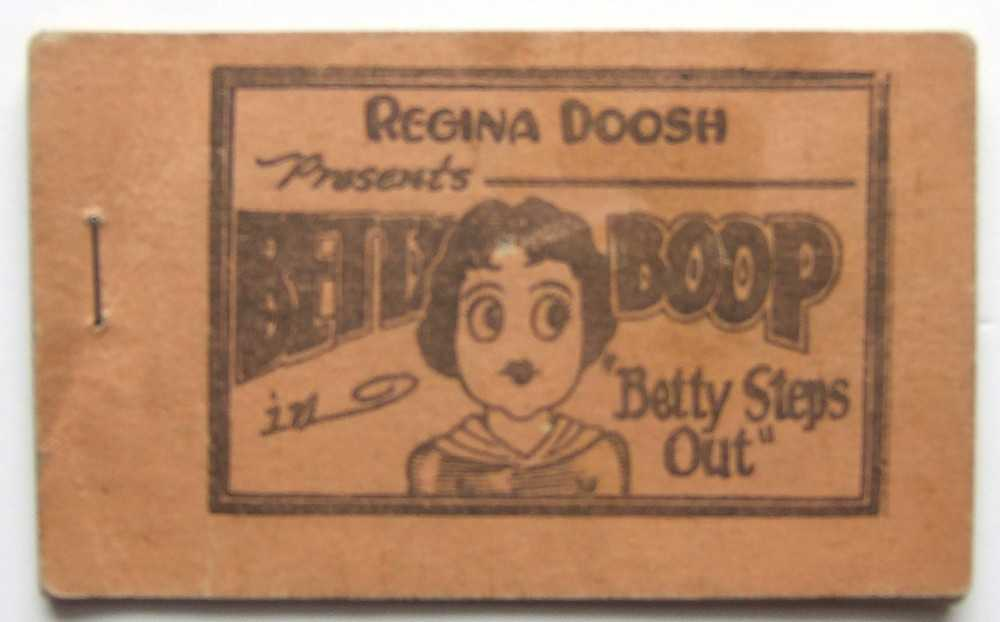 "Betty Boop in ""Betty Steps Out"" (Tijuana Bible)"