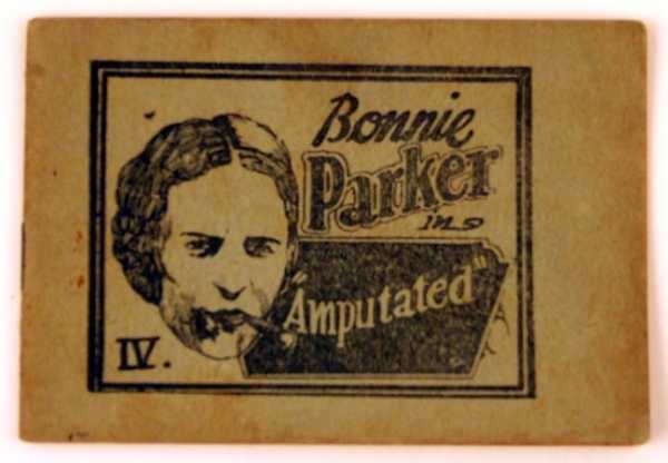 "Bonnie Parker in ""Amputated"" (Tijuana Bible), Anonymous"