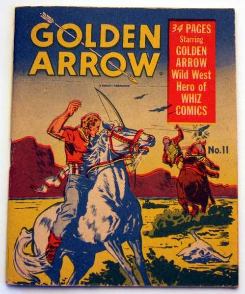 Golden Arrow #11A (Mighty Midget Comics), Carreno, Al
