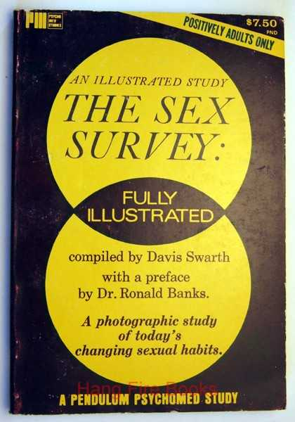 The Sex Survey: A Photographic Study of Today's Changing Sexual Habits, An Illustrated Study, Davis Swarth; Dr. Ronals Banks (Preface)