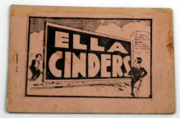 Ella Cinders (Tijuana Bible, 8-Pager), Anonymous; Based on characters created by Bill Conselman and artist Charles Plumb