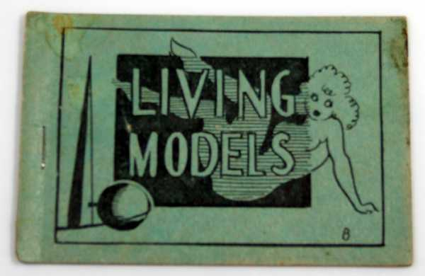 Living Models (1939 World's Fair) (Tijuana Bible, 8-Pager), Anonymous