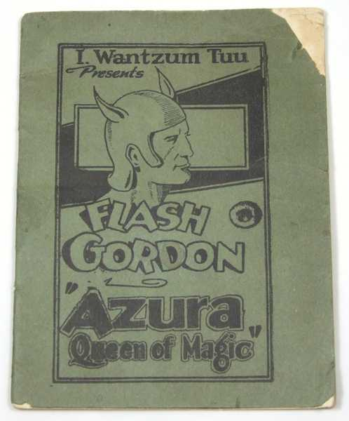 "Flash Gordon ""Azura, Queen of Magic"" (Tijuana Bible, 8-Pager), Anonymous; ""I Wantzum Tuu""; Based on characters created by Alex Raymond"