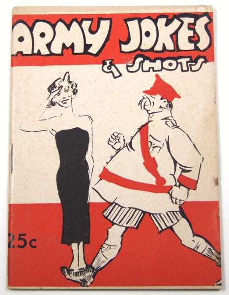 Army Jokes & Shots (Joke Book), Shomer, Louis