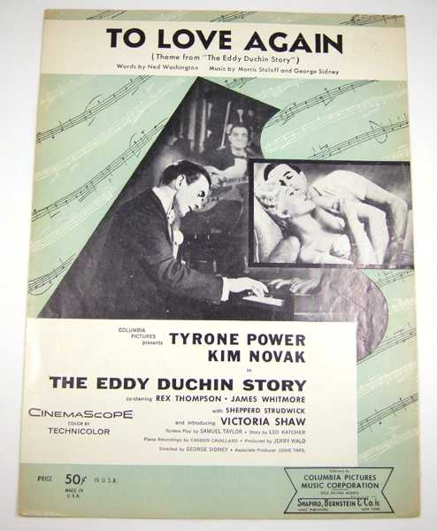 """Image for To Love Again (Theme from """"The Eddy Duchin Story"""") [Sheet Music]"""