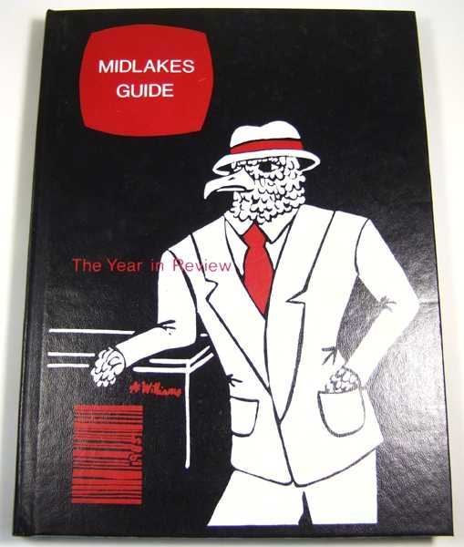 Midlakes High School Yearbook, 1985 (Clifton Springs, New York), Yearbook Staff