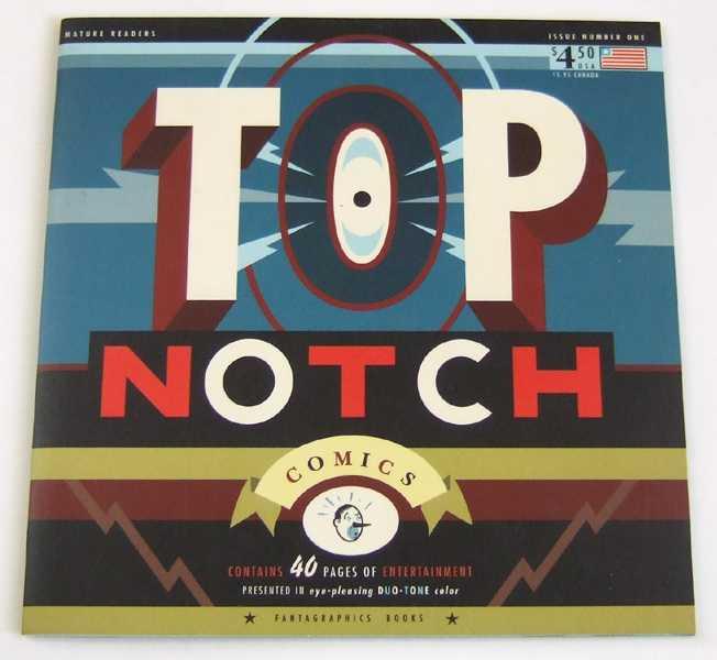 Top Notch Comics #1, Persoff, Ethan