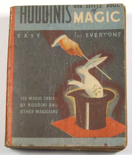 Houdini's Big Little Book of Magic: Easy for Everyone, Houdini, Harry