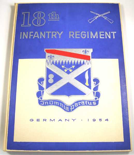 18th Infantry Regiment, 1st Infantry Division, Germany 1954, Salet, Eugene A.