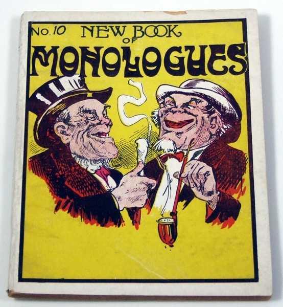 New Book of Monologues, Ott, Moe