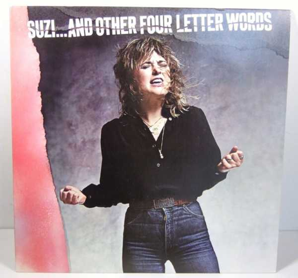 Suzi...And Other Four Letter Words [Vinyl LP], Quatro, Suzi