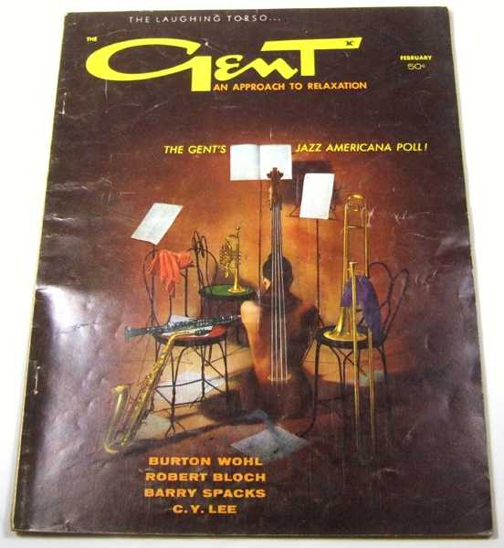 Gent: An Approach to Relaxation (Vol. 4, No. 3, February, 1960), Bruce Elliott (Editor); Robert Bloch