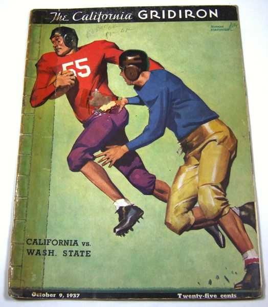 The California Gridiron: University of California vs. Washington State (October 9th, 1937), Associated Students University of California