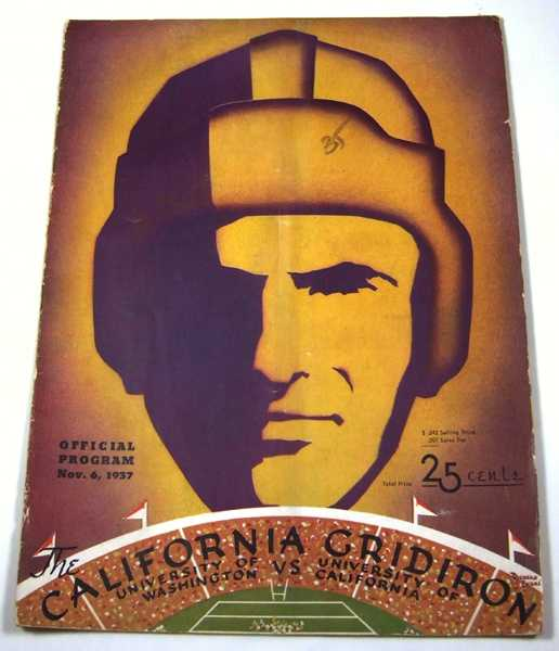 The California Gridiron: University of Washington vs. University of California (November 6th, 1937), Associated Students University of California