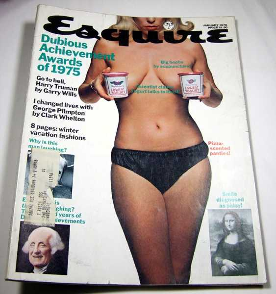Esquire: The Magazine for Men (January, 1976), Editors; Richard Selzer; Cynthia Ozick