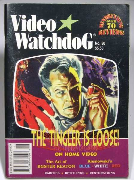 Video Watchdog #30 (September-December, 1995)
