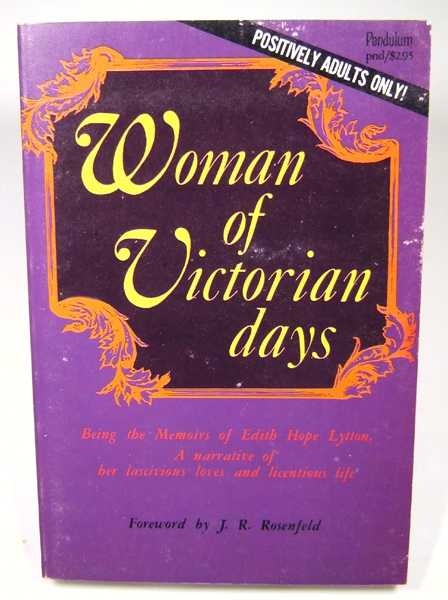 Woman of Victorian Days, Edith Hope Lytton; J. R. Rosenfeld (foreword)